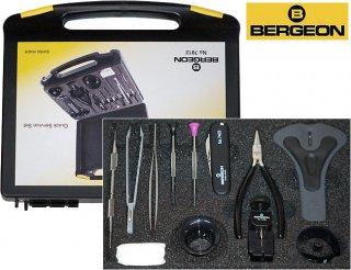 BERGEON【ベルジョン】 クイックサービス工具セット電池交換・ブレス調整
