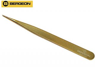 BERGEON【ベルジョン】 真鍮ピンセット