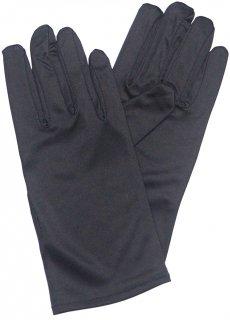 マイクロファイバー宝飾手袋 ブラック/ホワイト S/Lサイズ