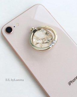 スマホ Ring 水晶