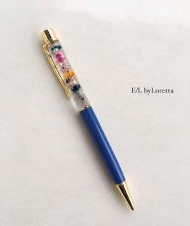 ハーバリウムball pen(Blue)