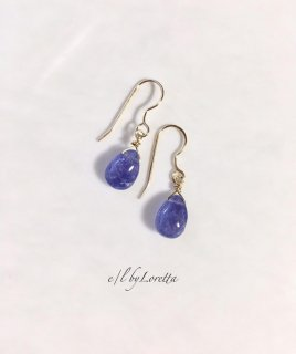 タンザナイトDrop pierce/earring