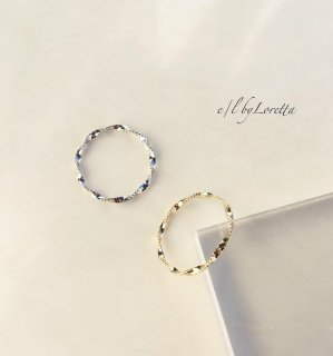 【7/23(tue)21:00〜Order Start.】Twist Ring