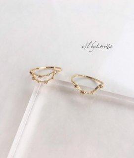 星座 Crystal Ring (やぎ座/みずがめ座)