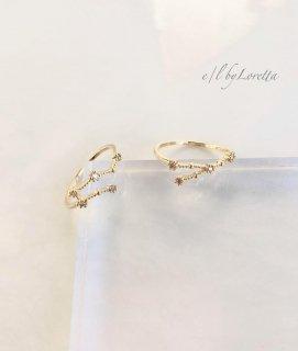 星座 Crystal Ring  (おうし座/ふたご座)