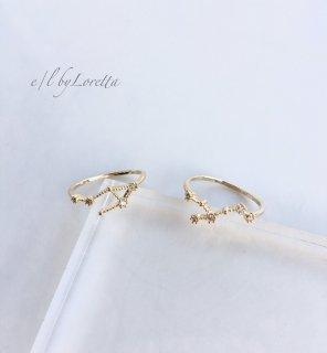 星座 Crystal Ring  (おとめ座/てんびん座)