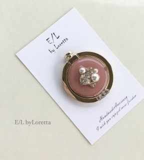 スマホ Ring color bijou(Light pink)