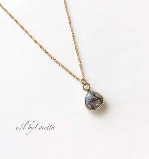 コッパーアマゾナイト marron 14kgf necklace