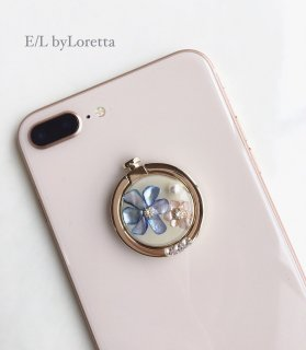 スマホ Ring shell flower