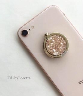スマホ Ring SWAROVSKI bijou