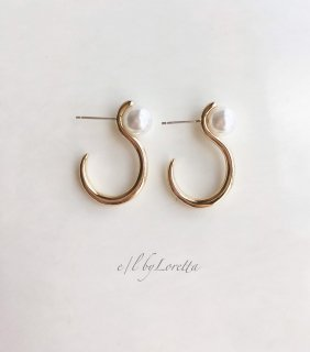Pearl metal hoop pierce
