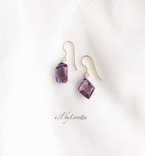 アメジスト pierce/earring