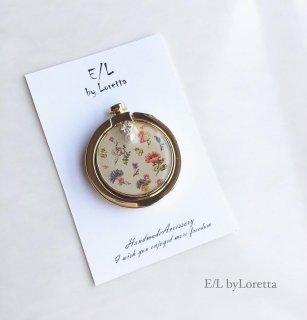 スマホ Ring botanical bijou(Ivory)