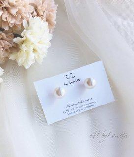 Crystal pearl pierce/earring(SWAROVSKI)