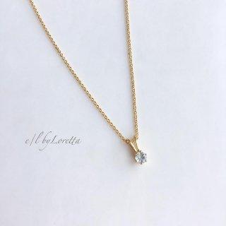 アクアマリン 14kgf necklace�