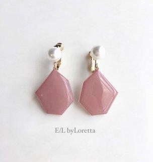 KAKERA pearl pierce/earring(Pink)