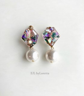 KAKERA shell pearl pierce/earring