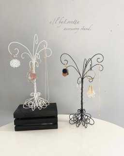 (全2色)Wire art tree Accessory stand