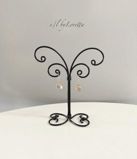 Wire art mini Accessory stand(Black)