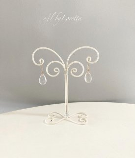 Wire art mini Accessory stand(White)