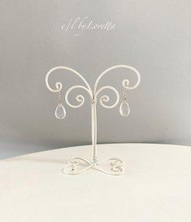 Wire art mini Accessory stand(White)