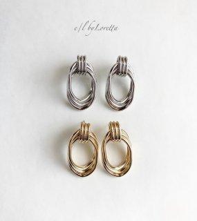 (全2色)Metal ring pierce