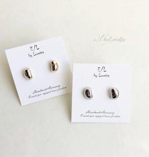 (全2色)Metal mini beans pierce