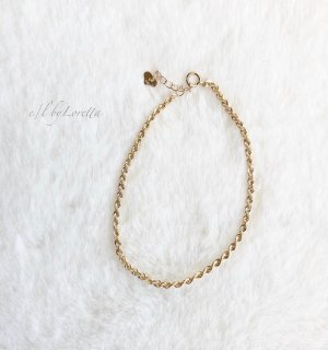 K10 rope chain bracelet