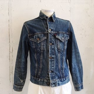 LEVI'S -70505 Denim Tracker Jacket (Big E) Used- Made in USA