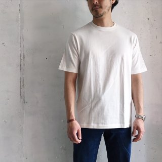 Merz b. Schwanen -crew neck oversized 1/4 arm (white)- Made in Germany