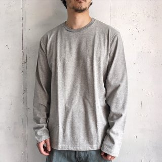 Merz b. Schwanen -crew neck oversized 1/1 arm (grey)- Made in Germany