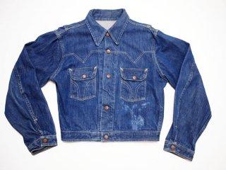 60's Vintage【Burlington】ビンテージデニムジャケット インディゴ ワークジャケット◆size:US-36相当 【USED】