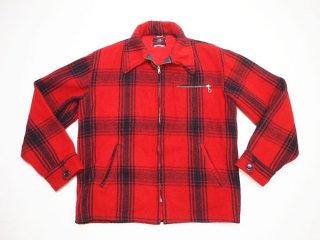70's Vintage 【Johnson Woolen Mills】 USA製 ジョンソン チェック ウールハンティングジャケット アウター◆size:US-M【USED】