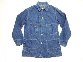 60's Vintage OSHKOSH UNION MADE インディゴ デニム カバーオール ワークジャケット US古着 ◆Size:US-36【USED】