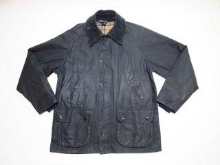 90's【Barbour】Bedale 英国製 バブアー オリジナル ビデイル オイルドジャケット コート アウター 紺◆Size:UK-38【USED】