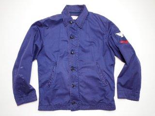 60's Vintage【US NAVY】ビンテージ ミリタリー ユーティリティジャケット デッキジャケット USN◆Size:US-38【USED】
