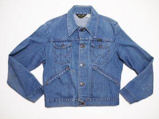 70's Vintage【Wrangler】ラングラー 124MJ デニムジャケット ビンテージ Gジャン◆size:US-40【USED】