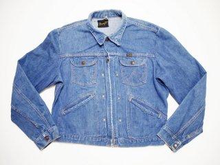 60's Vintage【Wrangler】ラングラー 24MJZ デニムジャケット ビンテージ Gジャン◆size:US-42【USED】