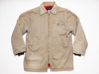 40's Vintage【Ta Pat Co】ビンテージ クラウンジッパー ブランケット付アウター ジャケット コート◆Size:US-M【USED】