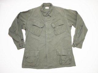 60's Vintage 【US.ARMY】米軍 ビンテージ ジャングルファティーグジャケット 4th ミリタリー ジャケット◆Size:US-M-R 【USED】