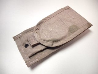 【US Militaly】MOLLE 2 M-4 Two Magazine Pouchマガジンポーチ 携帯ケース ベルトポーチ デザートカモ【DEADSTOCK】
