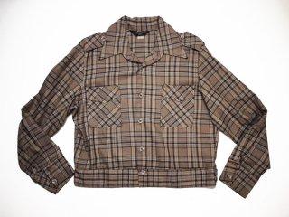 70's Vintage【TOBIAS TOPS】ビンテージ A-1タイプ ウールシャツジャケット◆Size:US-L【USED】
