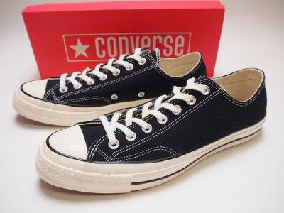 【Converse Chuck Taylor All Star CT70】 コンバース チャックテイラー オールスター USA限定 黒 三ツ星 162058C【NEW】