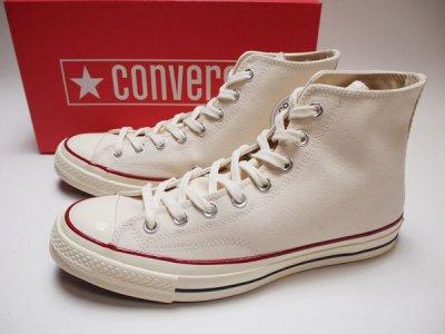 【Converse】コンバース チャックテイラー CT70 三ツ星 オールスター キャンバス ハイ 生成り 162053C【NEW】