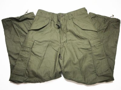 70's Vintage【US ARMY】 米軍実物 M-65 フィールドカーゴパンツ ミリタリーパンツ◆Size:US-S-R 【DEADSTOCK】