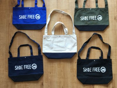 【SHOE FREE】CANVAS TOTE BAG オリジナル キャンバス トートバッグ 【B TYPE】