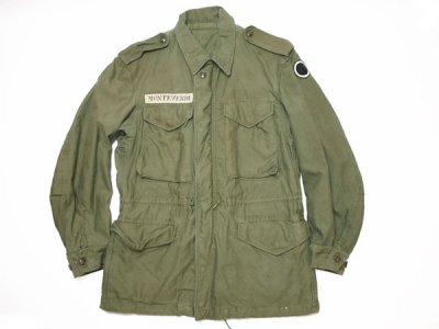 50's Vintage 【US ARMY】米軍実物 ビンテージ M-51 フィールドジャケット ミリタリージャケット◆Size:US-S 【USED】