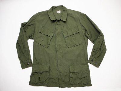 60's Vintage【US.ARMY】米軍 ビンテージ ジャングルファティーグジャケット 4th ミリタリー ジャケット(1801-90)◆Size:US-M-Regular 【USED】
