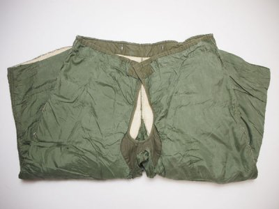 50's Vintage 【US ARMY】 米軍実物 M-51 LINERS TROUSERS カーゴパンツ ウールパイル ライナー ミリタリーパンツ◆Size:US-M-R 【USED】