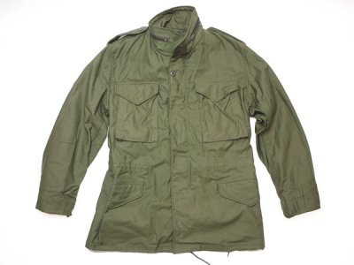 80's Vintage 【US ARMY】米軍実物 87年製 M-65 4th プラスチックジッパー ミリタリー ジャケット◆Size:US-S-R【DEADSTOCK】